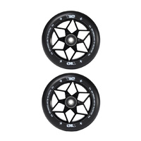 Envy 110mm Diamond Scooter Wheels | Black