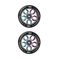 Envy 120mm Lambo Scooter Wheels | OilSlick/Black