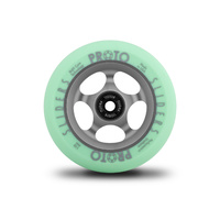 Proto Faded Sliders 'Green on Ghost Grey' 110mm Scooter Wheels