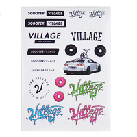 Village Sticker Sheet 2.0