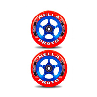 Proto - Hella X Proto Grippers 110mm (Red On Blue)