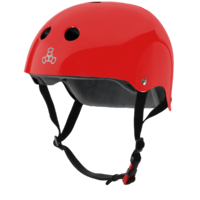Triple 8 The Certified Helmet SS | Red Gloss