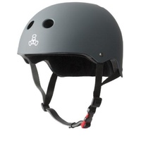 Triple 8 The Certified Helmet SS | Carbon Rubber