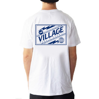The Village Electric Tee | White