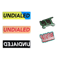Undialed Sticker Pack | Two