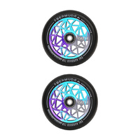 Oath Bermuda 110mm Scooter Wheels | Blue/Purple/Titanium