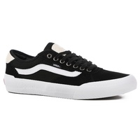 Vans Chima Pro 2 (Suede/Canvas) Black/White