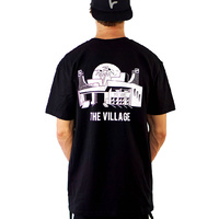 The Village Park Tee | Black