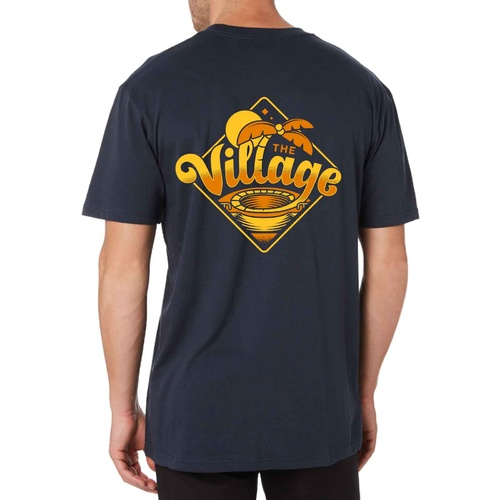 The Village Paradise Tee | Navy