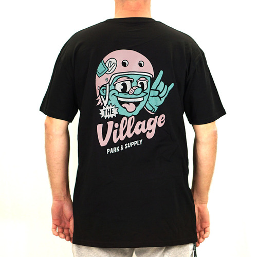 The Village Frother Tee | Black